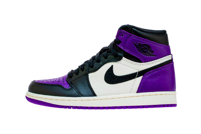 Air Jordan 1 Retro High OG Court Purple Release
