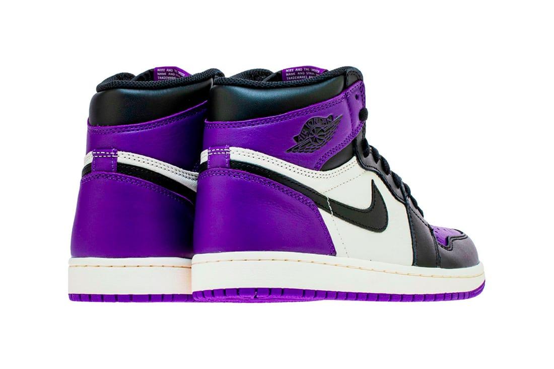 purple jordans 1
