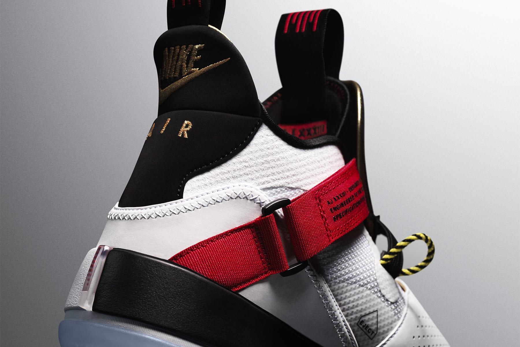 ec2291ad013f79 Jordan Brand debuts Air Jordan 33 - its first laceless basketball ...