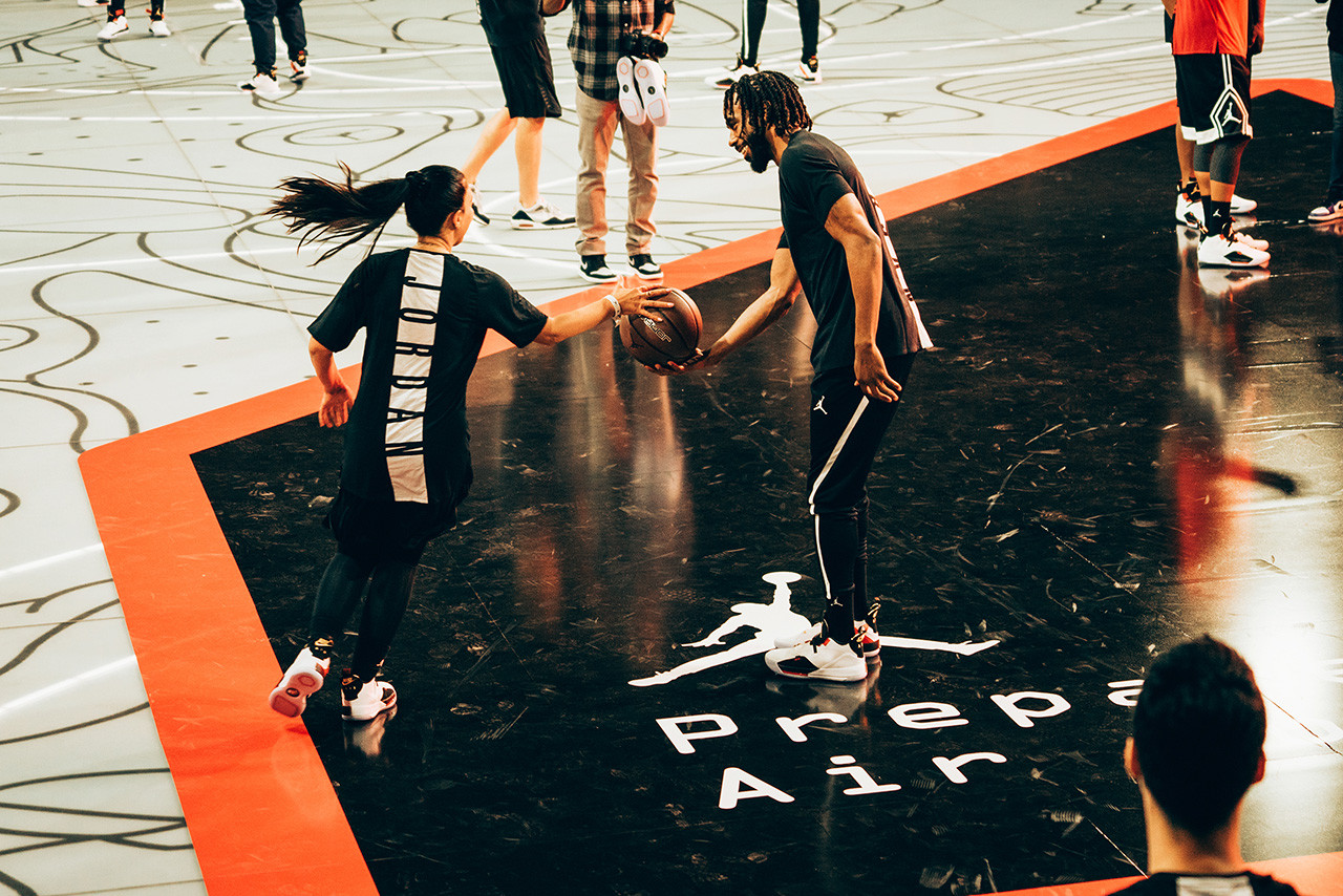 air jordan 33 los angeles event jabari parker mike conley jr footwear apparel 2018 2091 fashion basketball