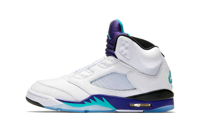 air jordan 5 nrg fresh prince will smith 2018 september footwear jordan brand