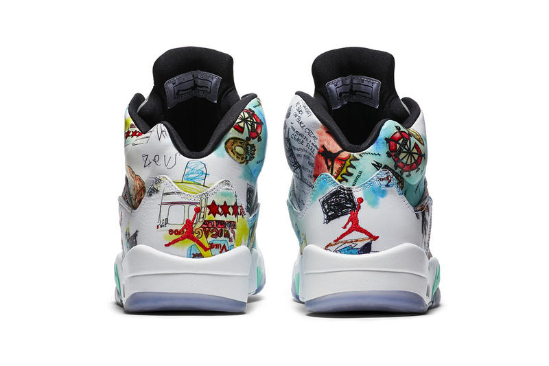 "Air Jordan 5 retro ""Wings"" Release Date jordan brand october 201 colorway sneaker print limited edition price info purchase wings initiative"