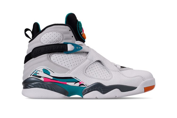 "77c1933a961 Air Jordan 8 Makes a Comeback in a ""South-Beach""-Inspired Makeover. Footwear"