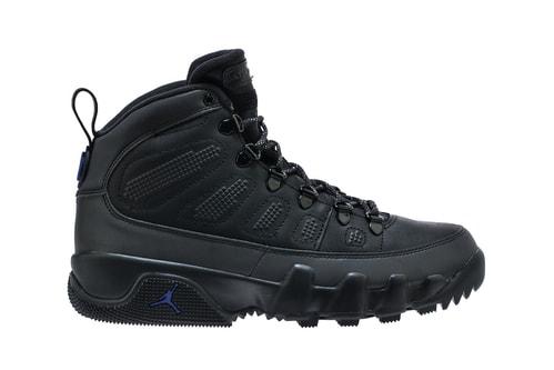 Jordan Brand Prepares for Winter With New Air Jordan 9 Boot NRG Models