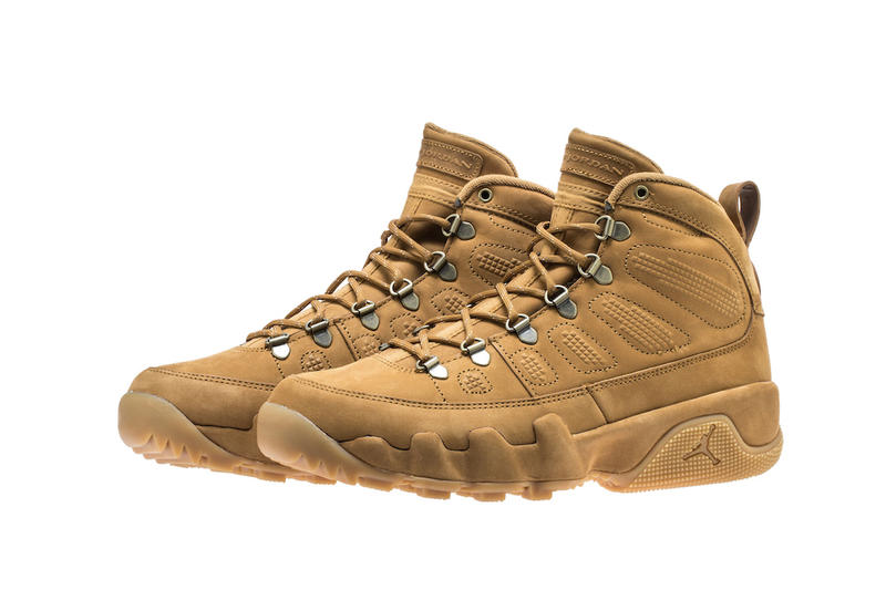 Air Jordan 9 Boot NRG Black Wheat jordan brand release info sneakers