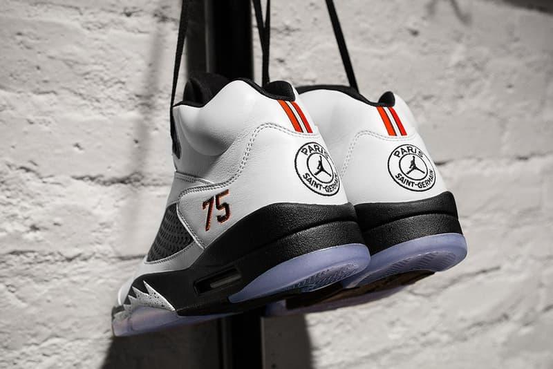 buy online 8b918 38510 Paris Saint-Germain Jordan V