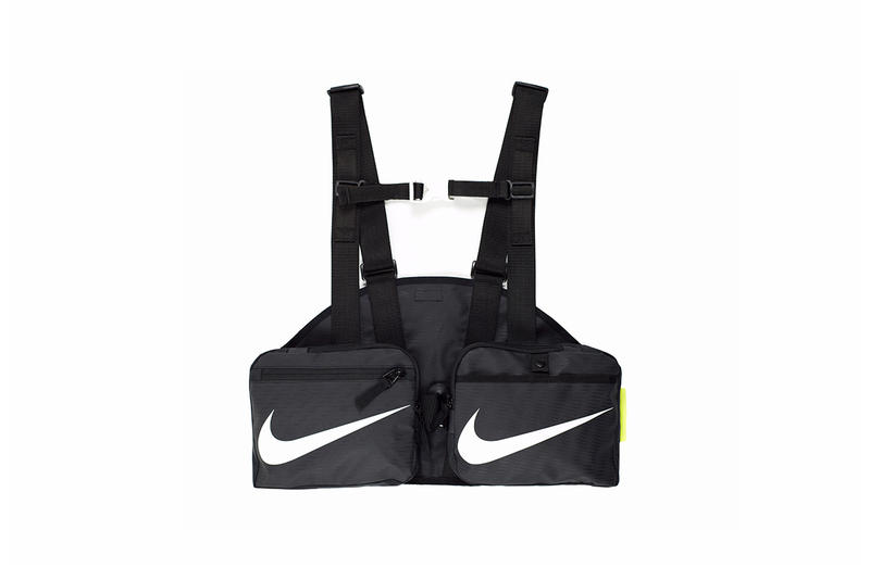 ALCH Nike Duffle Bag Gilet Release Black Tactical Vest Carry Reconstructed