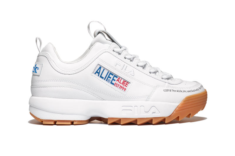 Alife FILA Disruptor 2 collaborations release info foot locker sneakers