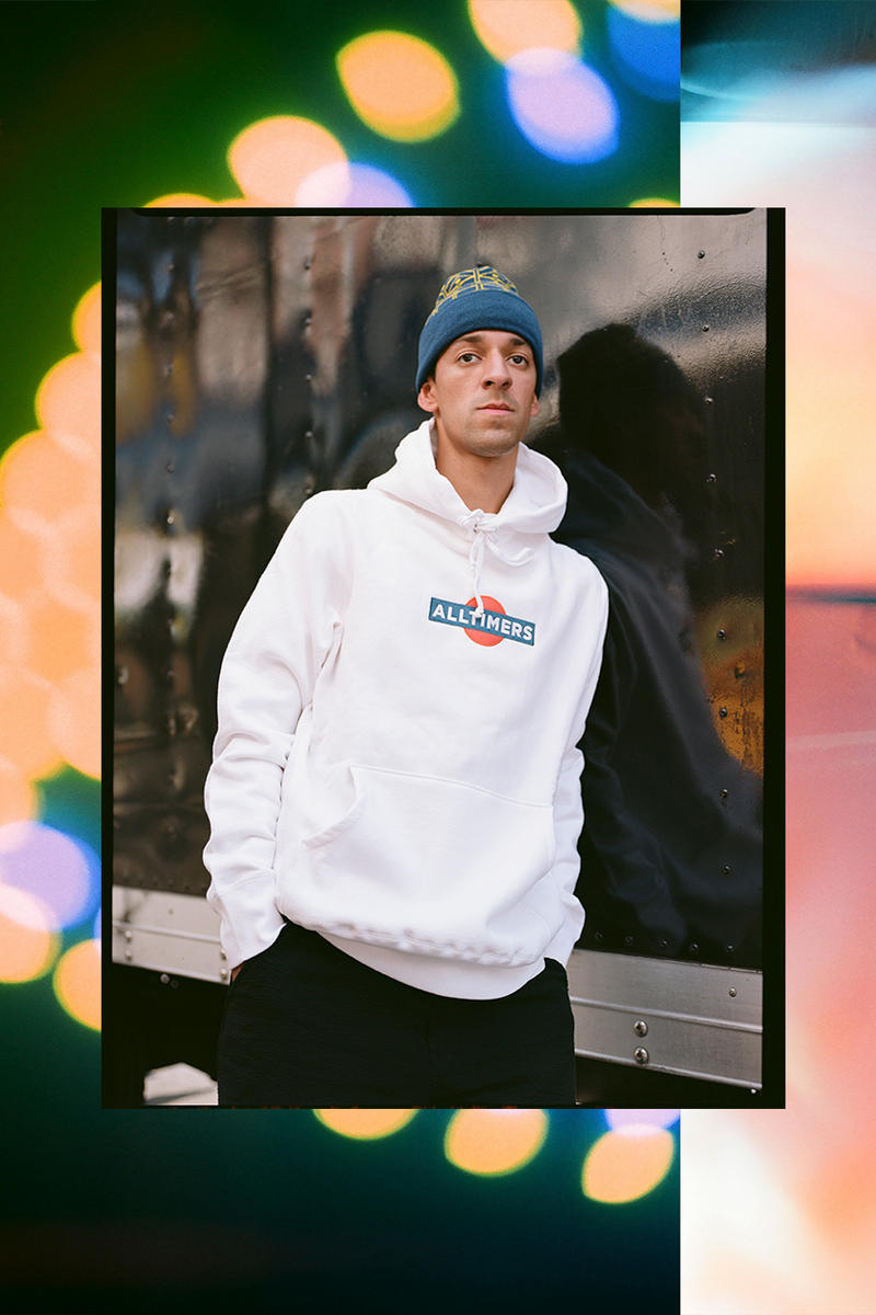 Alltimers Fall Winter 2018 Collection lookbook New Drop hoodies t-shirts crewnecks caps