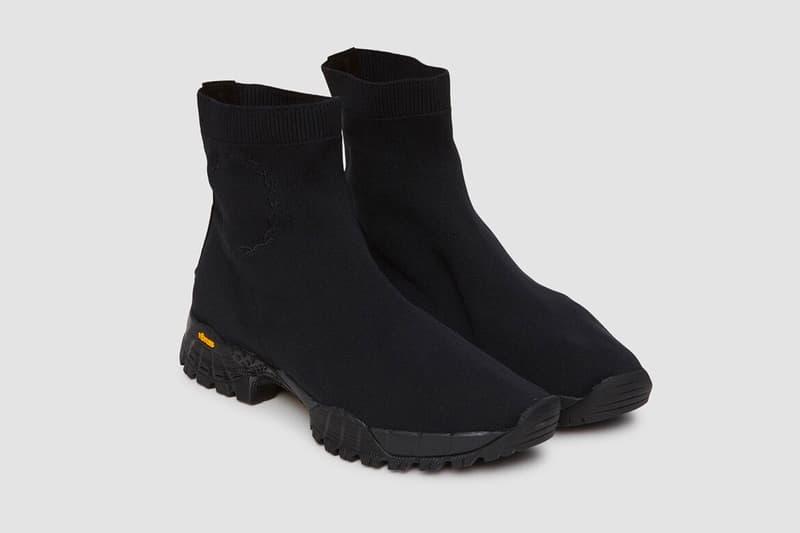 1017 ALYX 9SM Fall Winter 2018 Hiking Boot Black release info sock matthew williams