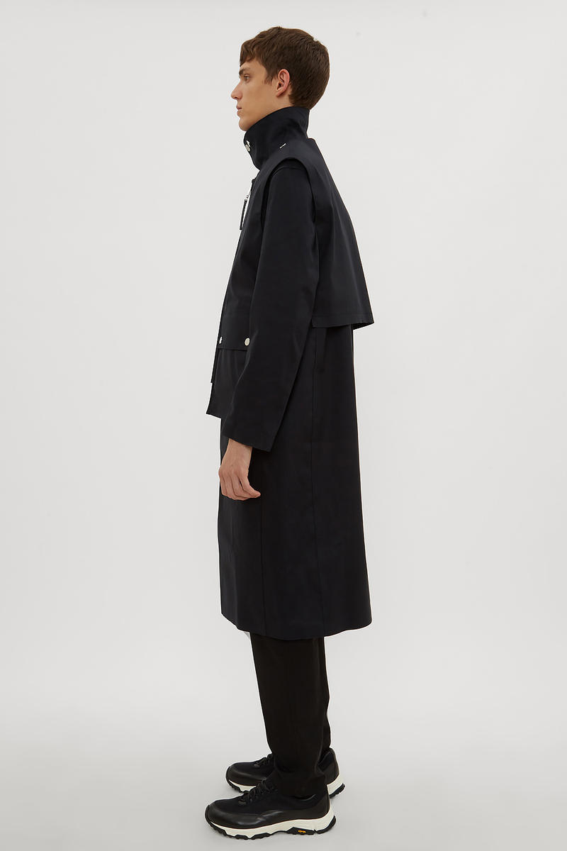 Alyx x Mackintosh FW18 Layered Formal Coat