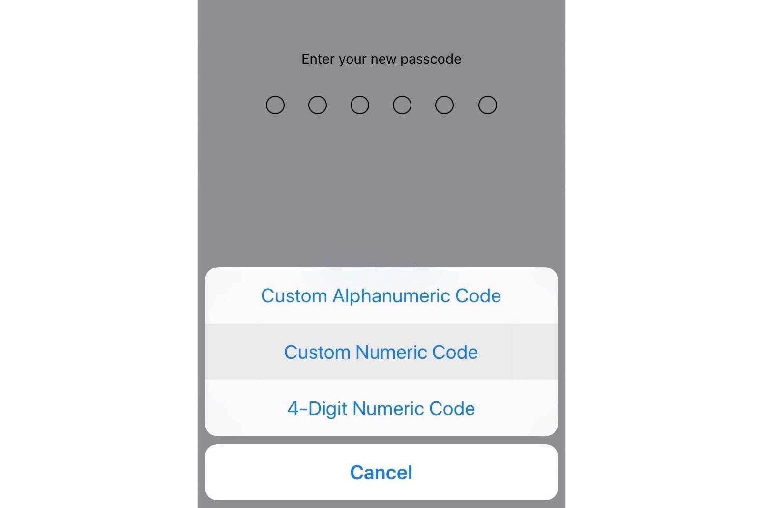 Apple iPhone iOS 12 Security Settings Update tech phones
