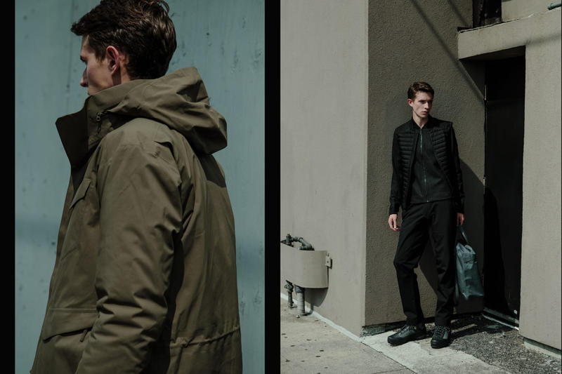 Arcteryx Veillance Fall Winter 1018 HAVEN editorial jacket blazer pants wallets shirts release drop collection
