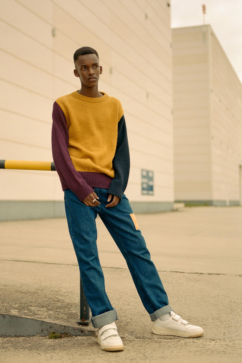 Arte Antwerp Fall Winter 2018 Lookbook collection knitwear