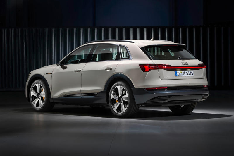 Audi New E Tron SUV all wheel drive car automotive Electric Vehicle Unveil