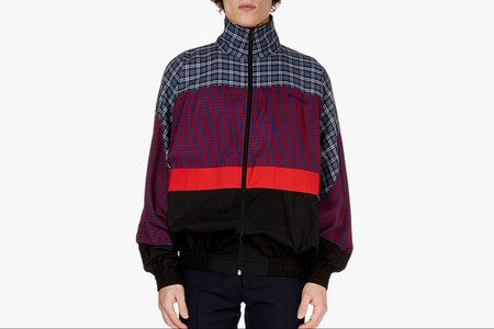 This Balenciaga Patch-Pattern Anorak Is Now Available for Pre-Order