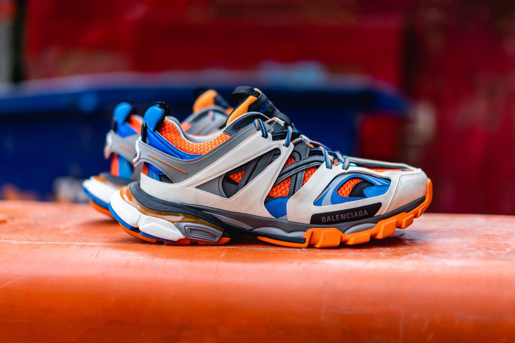Balenciaga Track Trainers On Feet iUCN Water