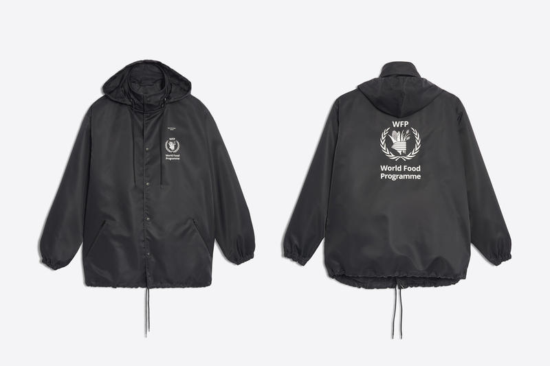 Balenciaga The World Food Programme Capsule Hypebeast