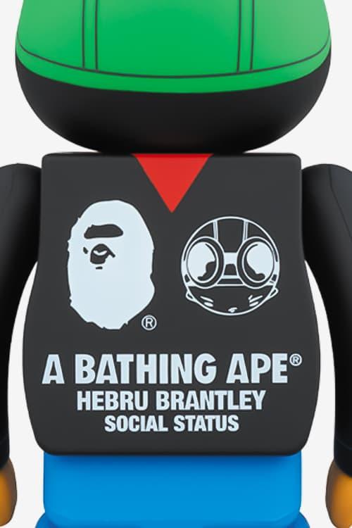 bape hebru brantley social status 1000 bearbrick medicom toy
