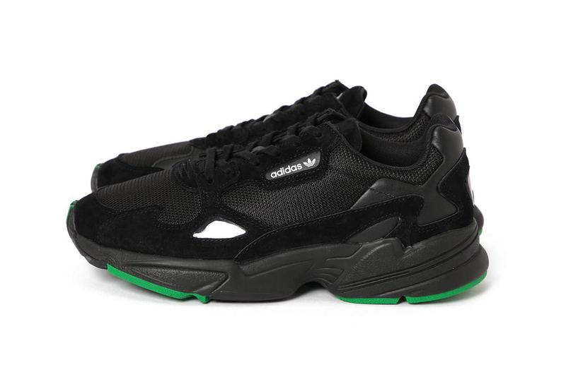 f1ca0cf34726 beams adidas falcon black green 2018 september footwear adidas originals  sneakers