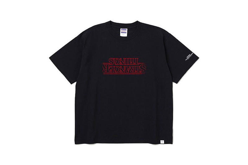 BEDWIN & THE HEARTBREAKERS Stranger Things capsule collection T-shirts black white Masafumi Watanabe netflix