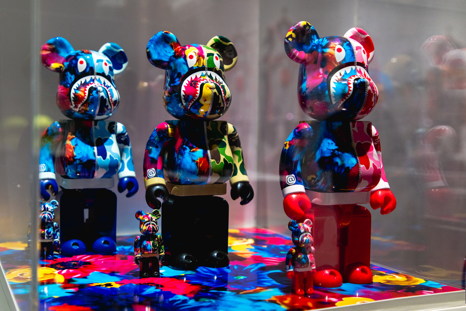 Best BAPE 25th Anniversary CollaborationBAPE XXV exhibitions a bathing ape nigo japan tokyo adidas casio g-shock japan tokyo spalding wilson adidas Swarovski medicom toy bearbrick