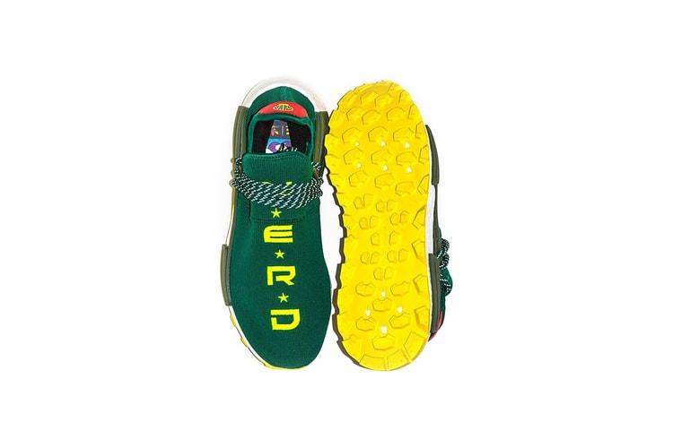 ee2edd237 Billionaire Boys Club Shares Exclusive N E R D x adidas NMD Hu