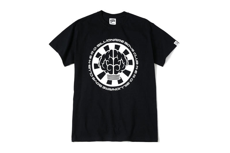 Billionaire Boys Club Ice Cream nerd collaboration japan exclusive tee shirts print logo pharrell williams september 18 2018 drop release date info black white yello no one ever really dies