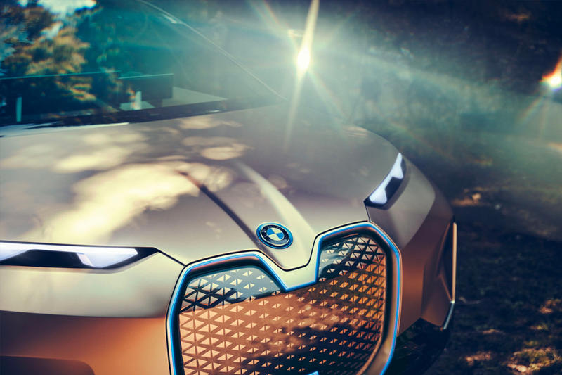 BMW Vision iNext Concept Car First Look electric luxury automobile release 2021
