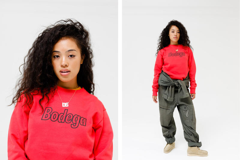 Bodega Fall Winter 2018 Collection Lookbook T-shirts hoodies crewnecks trousers