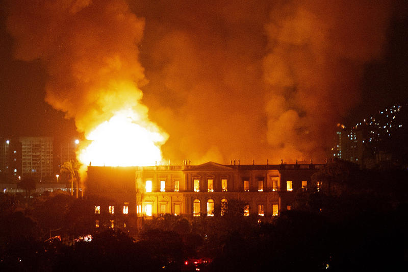 Brazil National Museum Fire 20 Million Items