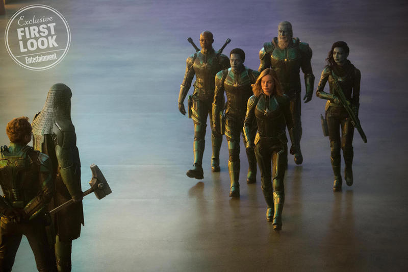 Image result for captain marvel first look