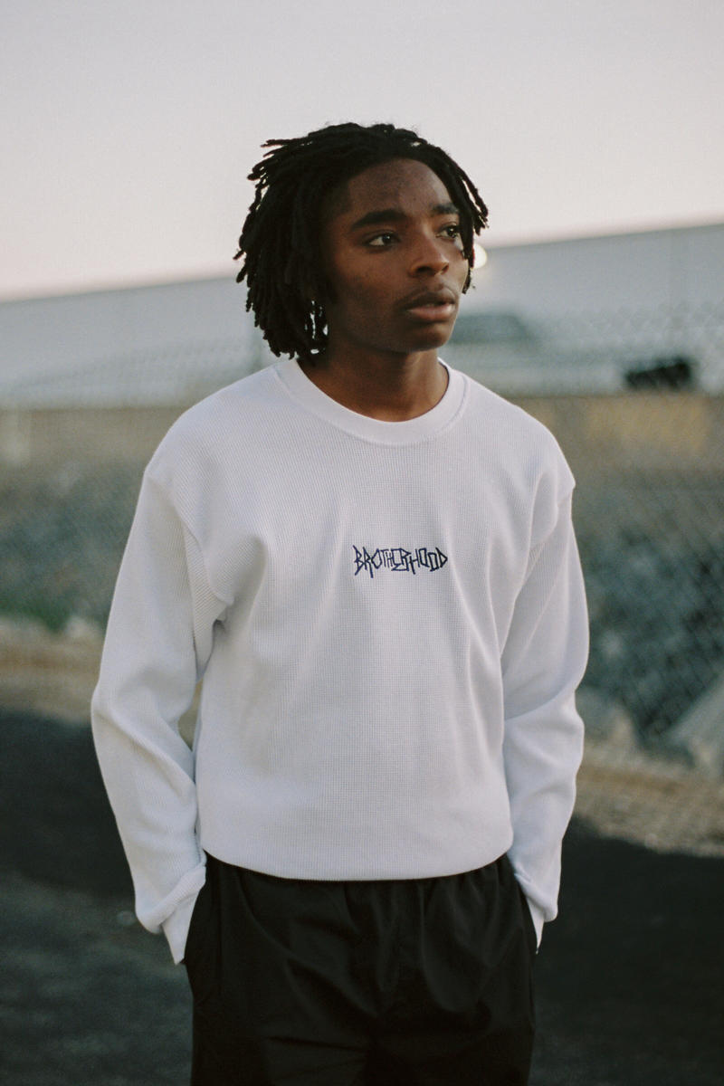 Brotherhood Fall Winter 2018 Lookbook collection T-shirts hoodies trousers crewneck pullovers