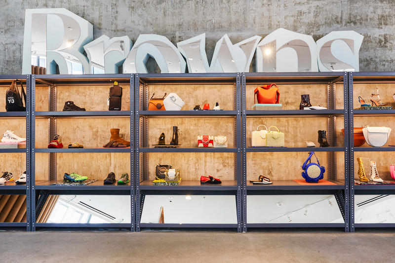 Browns Nomad Store Los Angeles Launch Pop-Up L.A. Fred Segal East Retailer Store