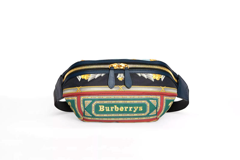 Burberry Archive Scarf Print Belt Bag accessories release info cross-body pouch