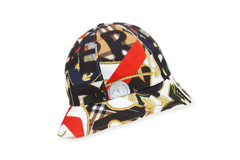 36d67e01091 Burberry Repurposes More Vintage Scarves for This Printed Bucket Hat.  Pulled from its  80s  90s ...