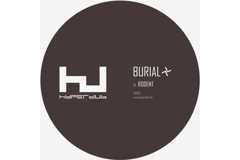 Burial Rodent Single Stream 2017 Track Bandcamp Hyperdub Kode9 Remix