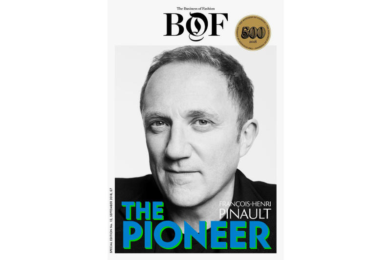 Virgil Abloh Business of Fashion BOF500 Francois-Henri Pinault Yara Shahidi Kalpona Akter Kering Gucci Balenciaga Louis Vuitton Off-White Actress Activist Pioneer Future Disruptor Influential Most People Fashion Magazine Print Buy
