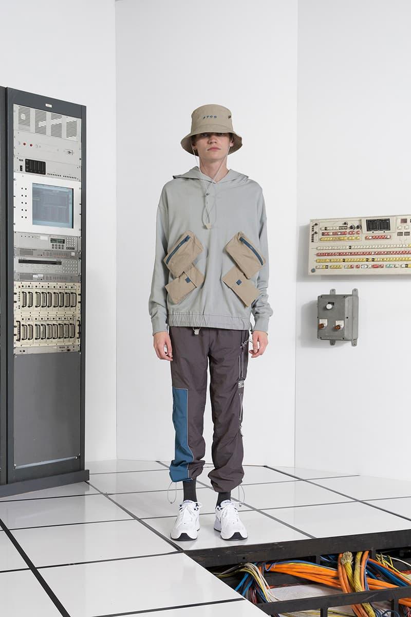 c2h4 System of Carbon collection fall winter 2018 lookbook drop release date info techwear computer september 27 2018 cargo parka jacket coat vest bucket hat