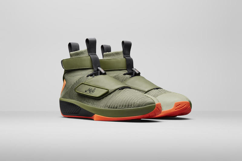 carmelo anthony jordan brand rag & bone capsule air jordan xx 2018 footwear fashion september