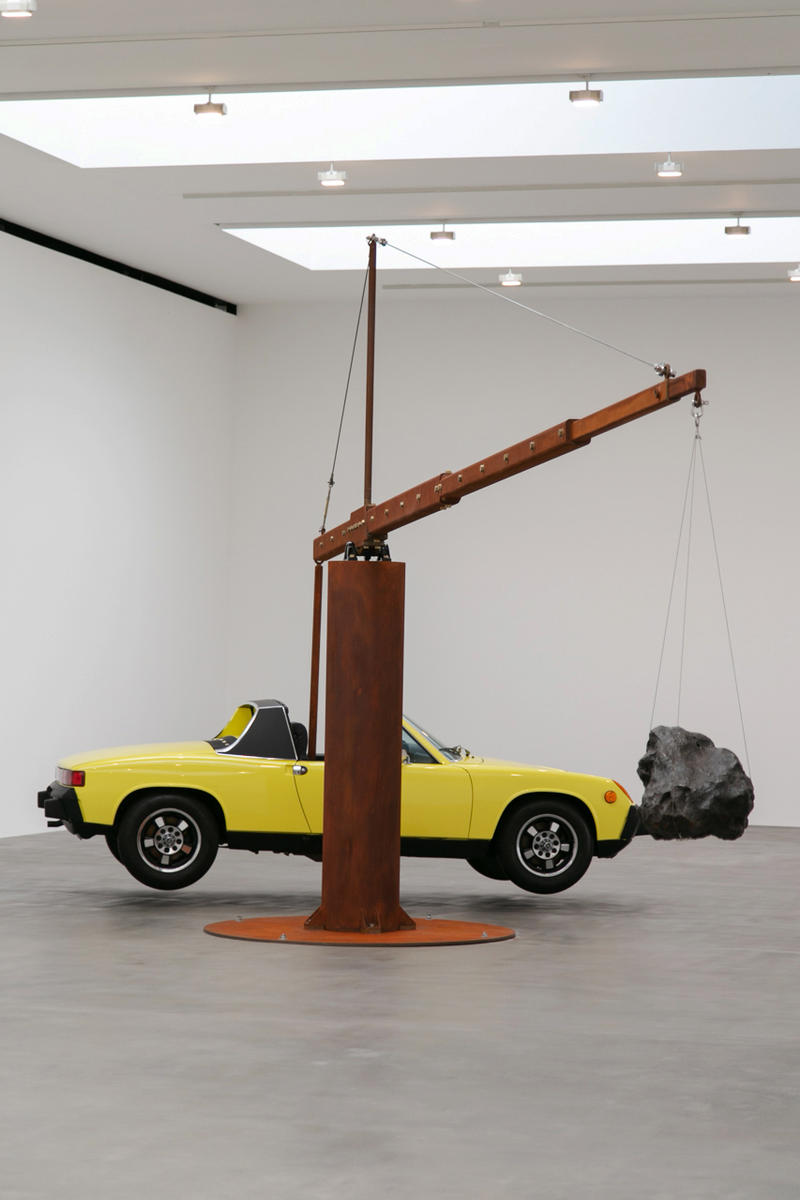 Chris Burden Measured Exhibit Exhibition Inside Look Gagosian London Britannia Street Art Design
