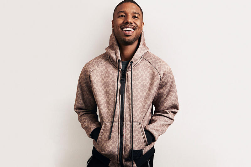 Coach michael b jordan menswear ambassador campaign spring summer 2019 stuart vevers global accessory fragrance perfume cologne foundation ready to wear collection