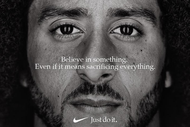 "Colin Kaepernick for Nike ""Just Do It"" Campaign 