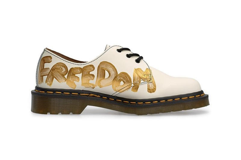 COMME des Garcons dr martens 1461 doc rei kawakubo dover street market london release information wear your freedom