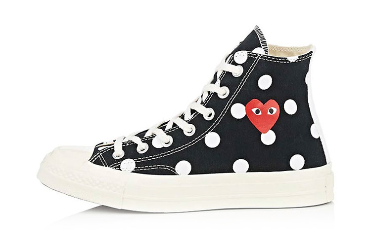 40eb5078aee COMME des GARÇONS Play x Converse Chuck Taylor Releases in
