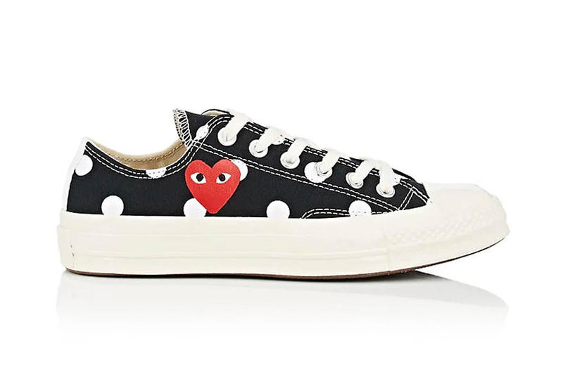 comme des garcons play converse chuck taylor 70 polka dot collection footwear sneakers shoes cdg Play