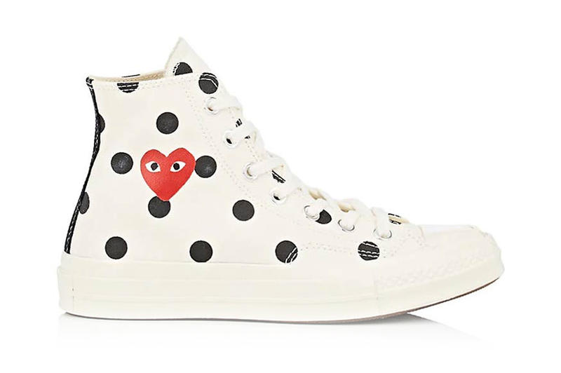 Comme Des Garcons Play Converse Chuck Taylor 70 Polka Dot Collection Footwear Sneakers Shoes Cdg