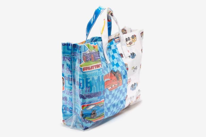 COMME des GARÇONS SHIRT Automobile Bedsheets Tote Bag cars pvc pixar disney bags accessories