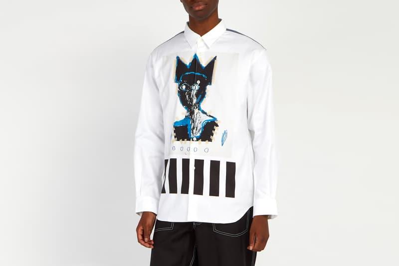 COMME des GARÇONS Shirt Jean-Michel Basquiat fall winter 2018 shirt release info