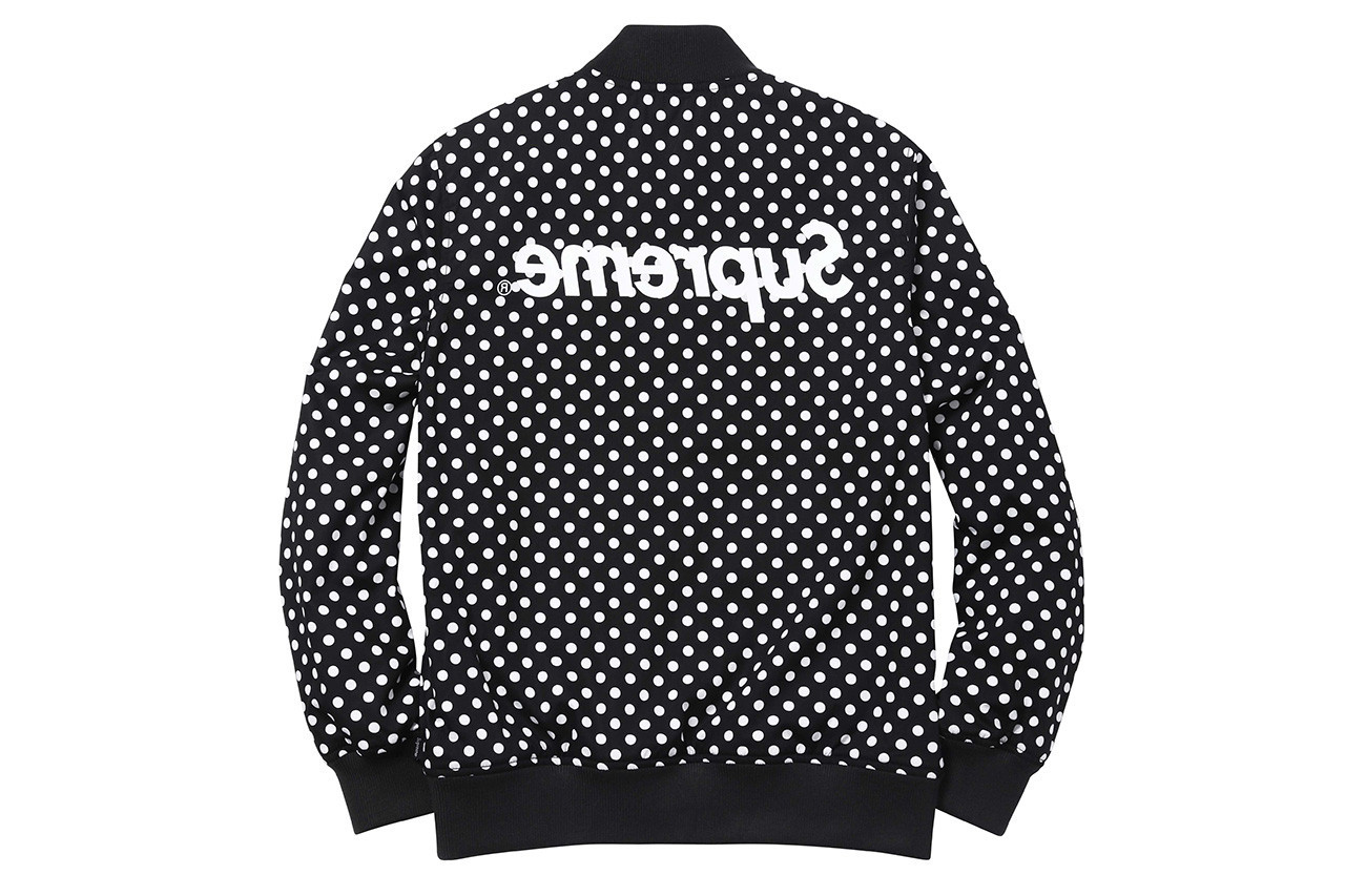 Supreme x COMME des GARÇONS Best Collaborations Poll Shirt Polka Dot Hoodie Air Force 1 Vans Authentic